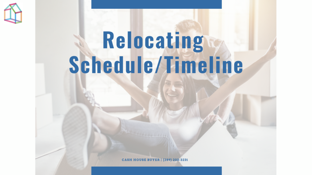 Cash House Buyer | Relocating Schedule:Timeline