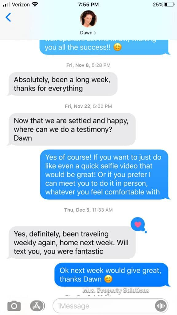 testimonials from sellers