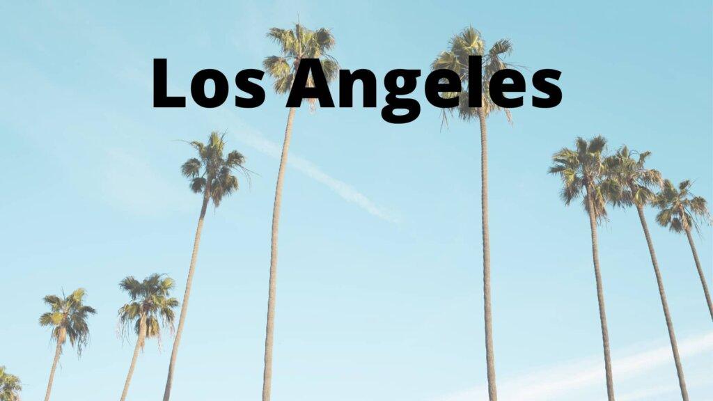 We buy properties in Los Angeles