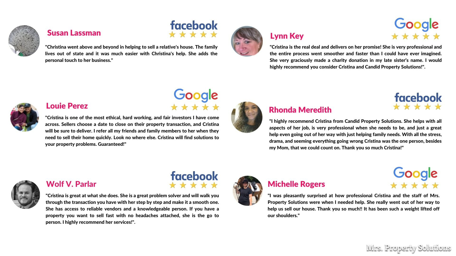 five star social media reviews