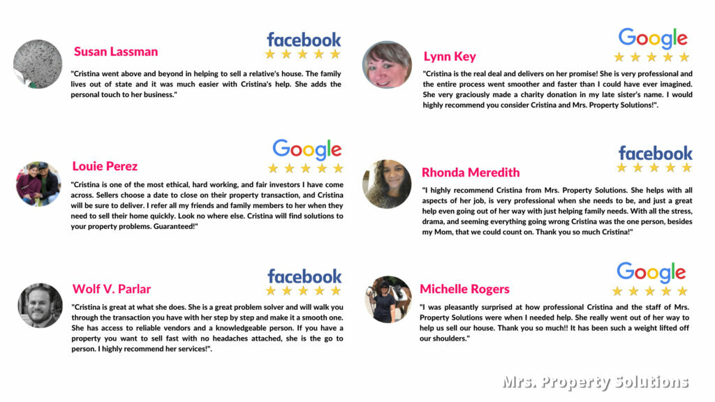 5 star home buyer reviews