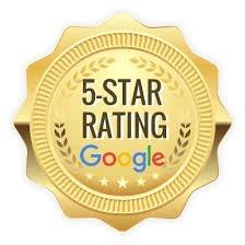 Google Five Star Rating
