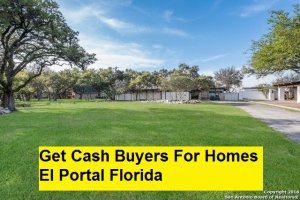 Get Cash Buyers For Homes El Portal Florida