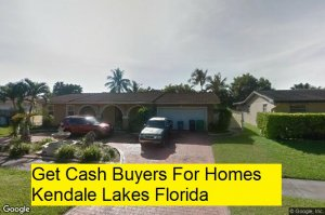 Get Cash Buyers For Homes Kendale Lakes Florida