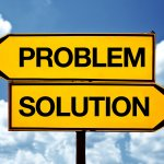 problem or soultion, opposite signs