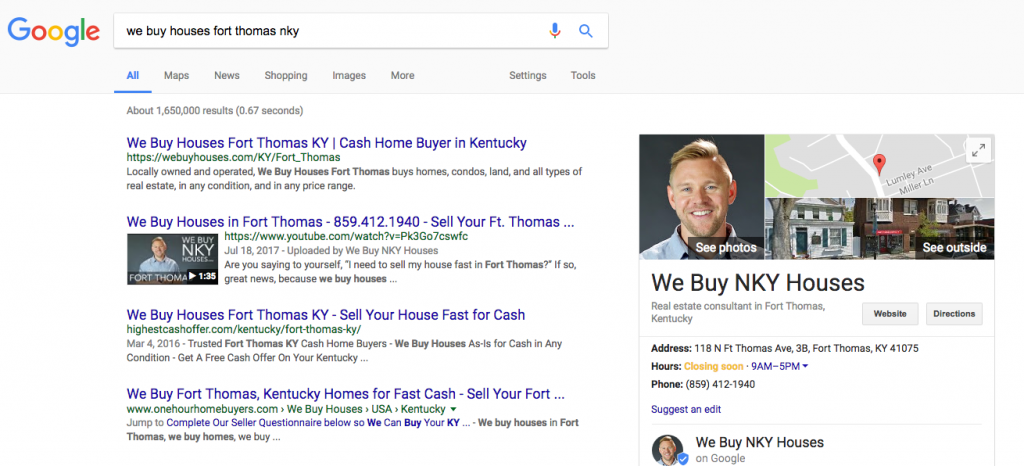 can i trust we buy houses companies in northern kentucky - google results page