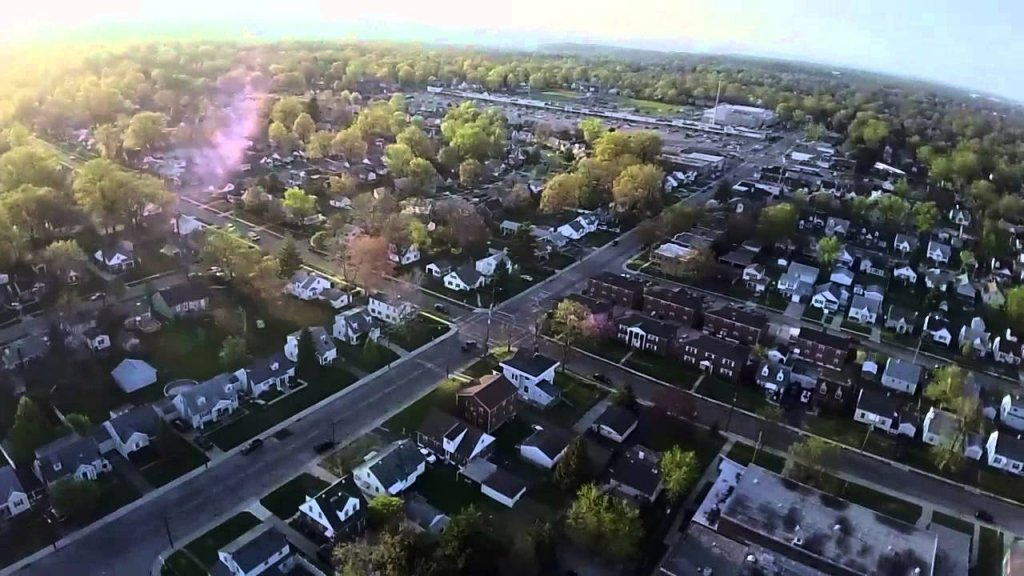 we buy houses in deer park oh - aerial view