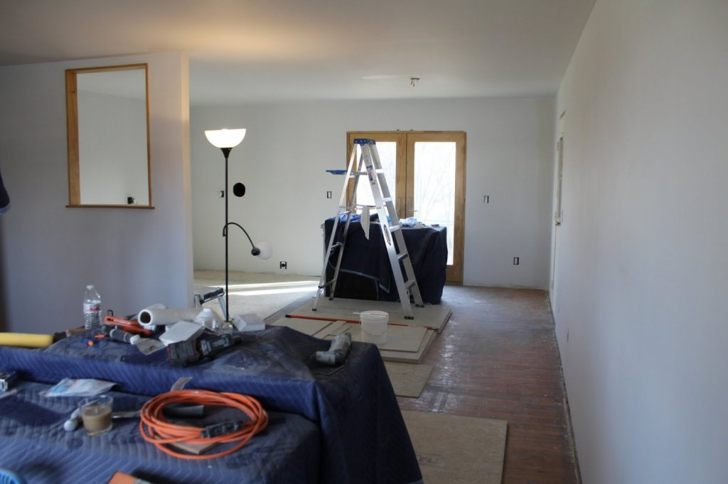 sell house already being renovated because 2 mortgages