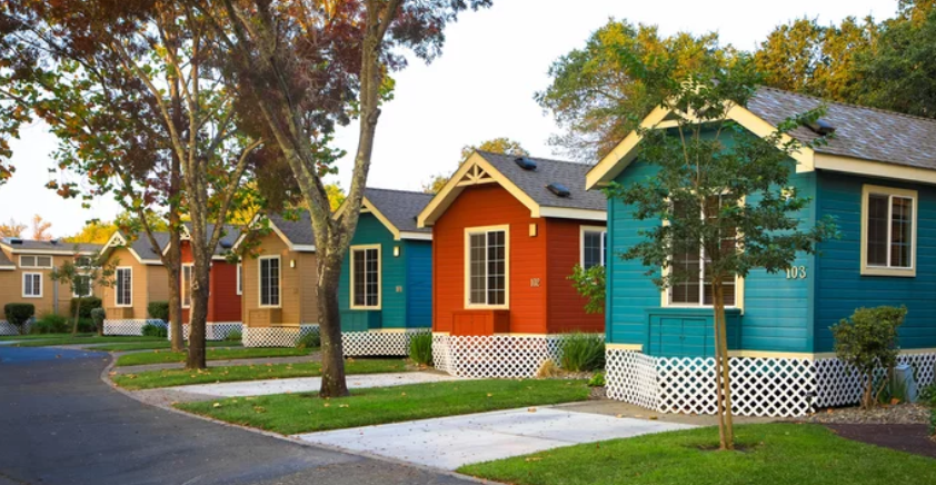Mobile Home- Colorful homes