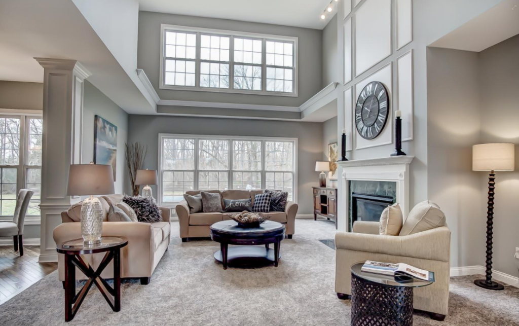 Stage Your Home Before You Sell- Living room