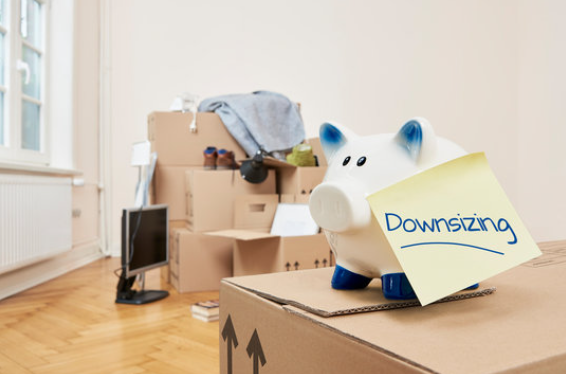 Ways You Can Downsize Your Home- Boxes