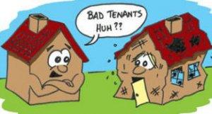bad tenants
