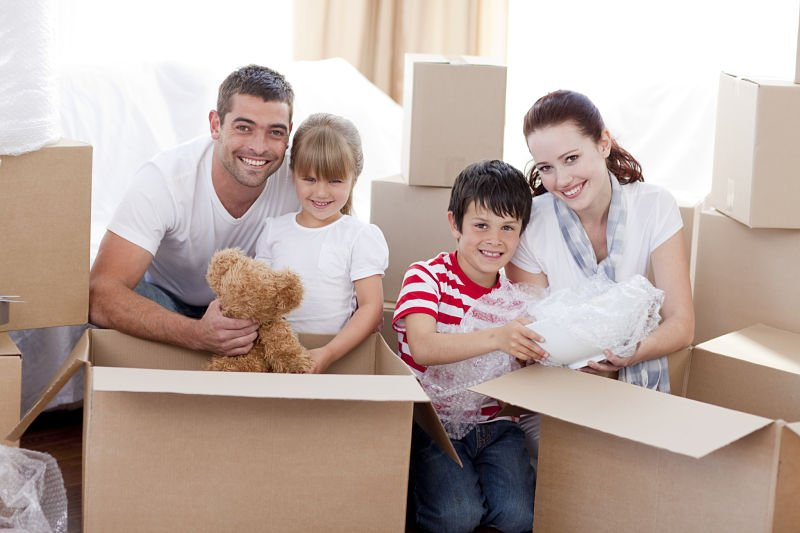 Moving with kids can be difficult
