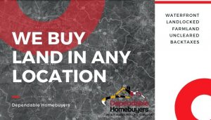 We Buy Land in Maryland! Call (855) 741-4848 Today For Your CASH Offer!