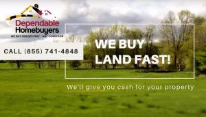 Sell Your Land Fast! Call (855) 741-4848 For Your CASH Offer!
