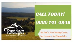 We Buy Land in Virginia! Call (855) 741-4848 Today For Your CASH Offer!