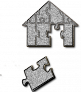 puzzle of selling house