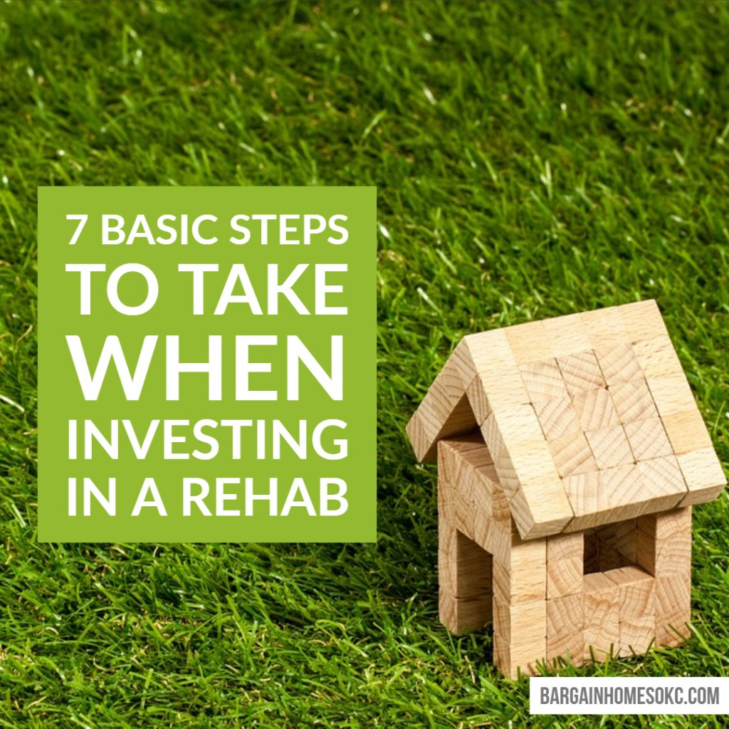 steps to take when investing in a rehab in oklahoma