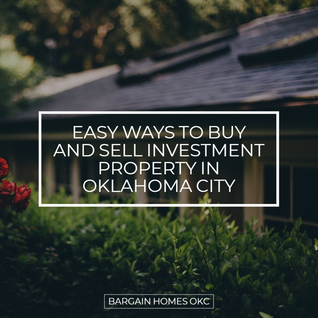 Sell Investment Property in Oklahoma City