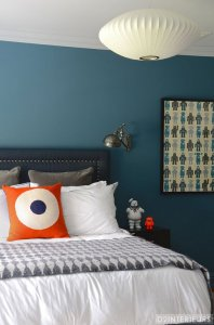 Cadet blue bedrooms add a $1,856 premium to the sales price