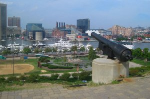 Federal Hill in Baltimore