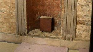 1915 Copper Box Found in the Washington Monument in Baltimore