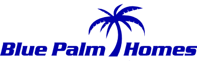 Blue Palm Homes Main logo
