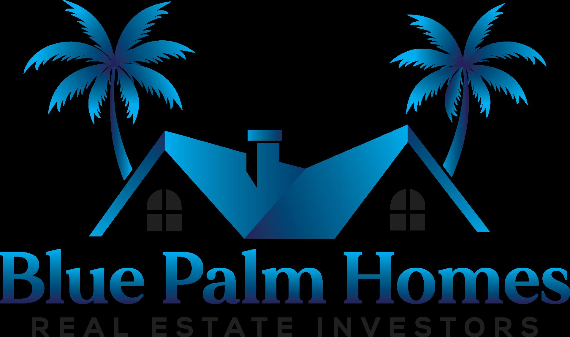Blue Palm Homes Main logo