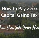 Zero Capital Gains Tax