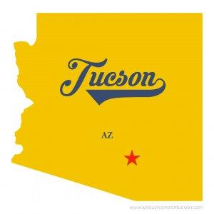 Map Tucson_AZ