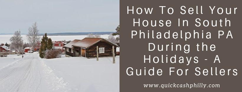 We buy houses in South Philadelphia PA