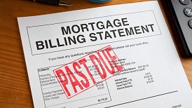 Behind mortgage payments in Jenkintown PA