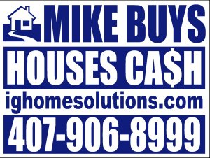Sell My House Fast Apopka Florida - I.G. Home Solutions LLC
