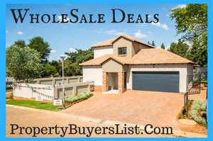 wholesale real estate deals