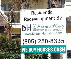 Residential redevelopment by Dream Home Property Solutions, LLC