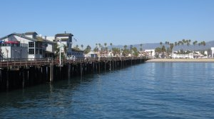 The Santa barbara pier