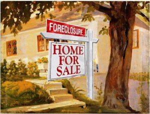 Ventura County home with a foreclosure sign