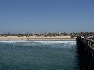 The beautiful beach in Port Hueneme