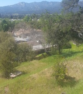 picture over looking a thousand oaks home from a hilltop
