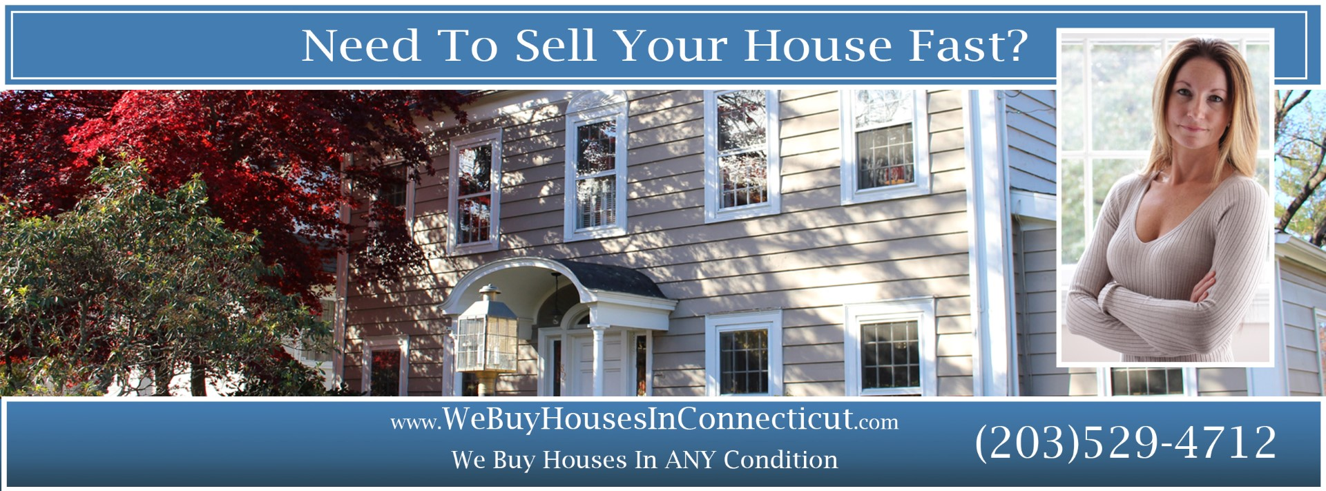 We Buy Houses In Connecticut Banner