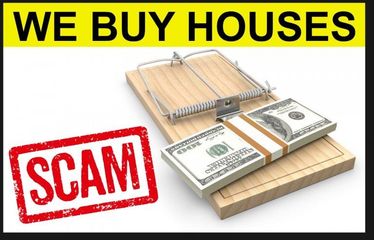 we buy houses scams