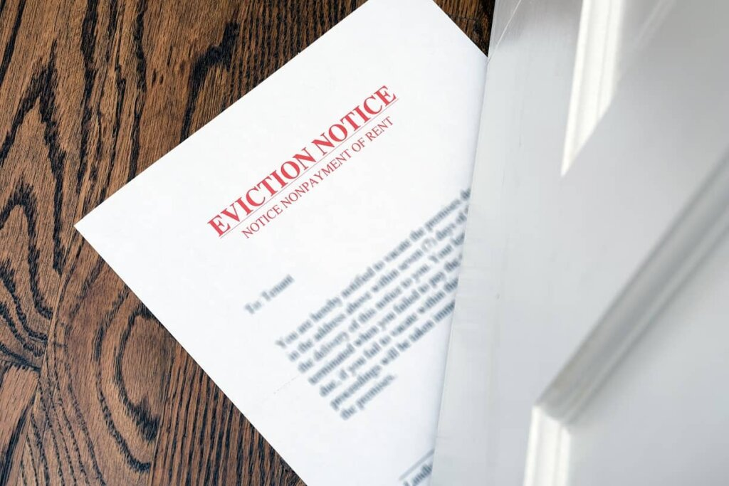 Frustrating tenant eviction