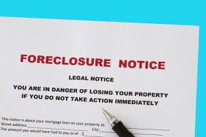 notice of home foreclosure