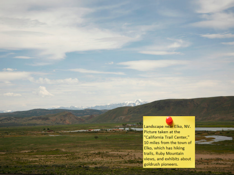 Elko Nevada landscape