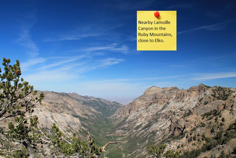 Lamoille Canyon - Ruby Mountains, near Elko, Nevada