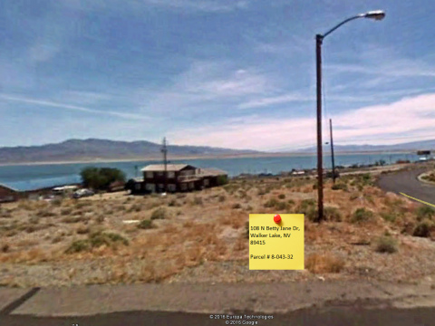 Street view walker lake nevada property for sale