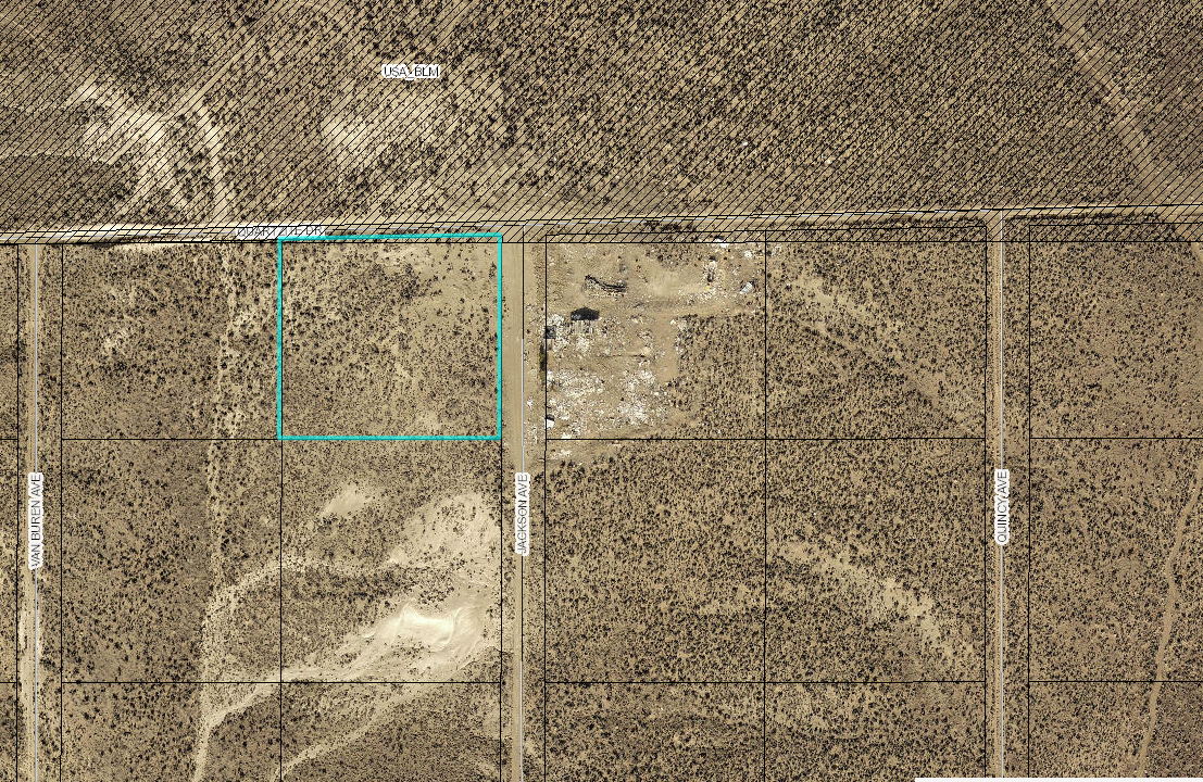 Map - 1.88 acres for sale, ryndon nevada