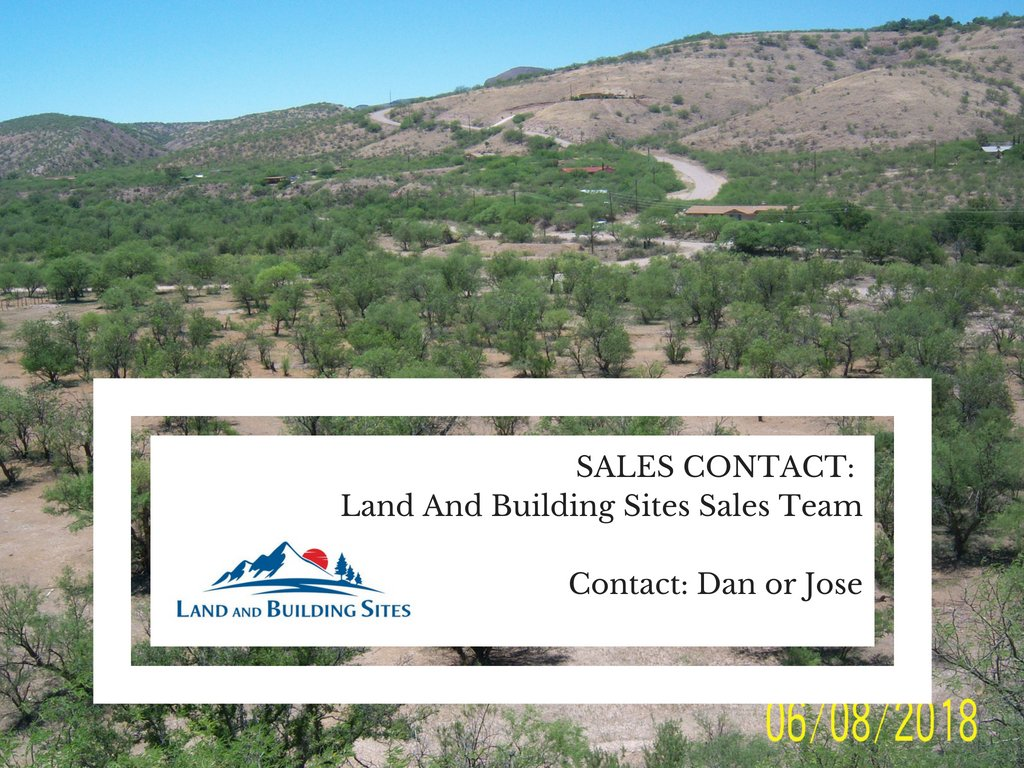 0.82 AC, Santa Cruz County, AZ w Sales Contact