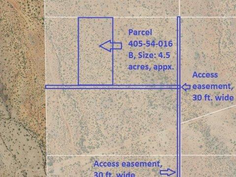 Map, Parcel 405-54-016B
