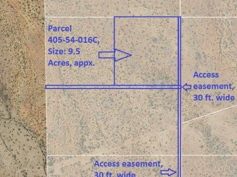 Map, Parcel 405-54-016C